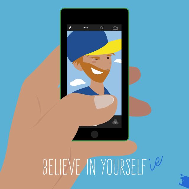 Believe in yourselfie